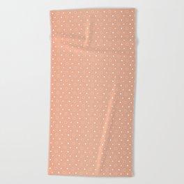 Art Deco Pattern 1 [ROSE GOLD] Beach Towel
