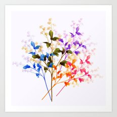 Itty Bitty Flowers Art Print