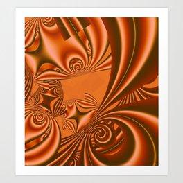 fractal geometry -124- Art Print