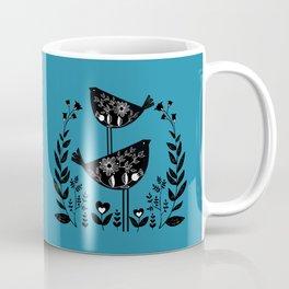 Danish Birds Bring Good Luck And A Good Life Coffee Mug