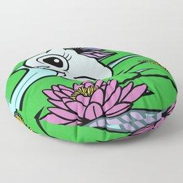 Penelope the fairy dragon Floor Pillow