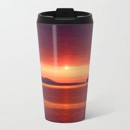 Colorful Sunset Travel Mug