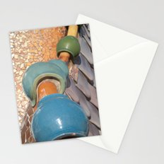 Gaudì roofs Stationery Cards