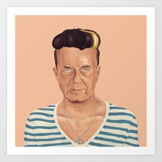 The Israeli Hipster leaders -  Yitzhak Rabin Art Print