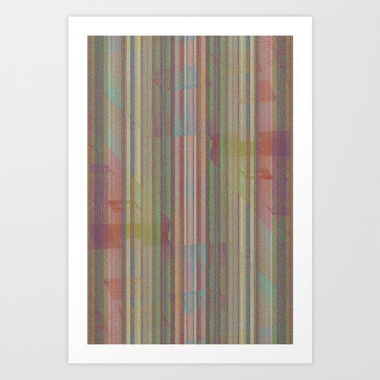 Autotune 5 Art Print