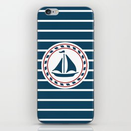 Sailing boat iPhone Skin
