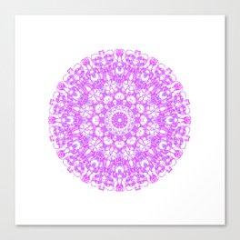 Mandala 12 / 1 eden spirit pink Canvas Print
