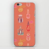 perfume iPhone & iPod Skins featuring Perfume by Pim-Pimlada Studio