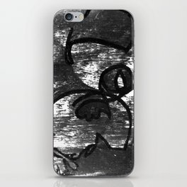 Hell Unit (Detail 1) B&W, YODA iPhone Skin
