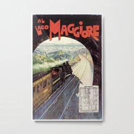 Vintage poster - Lake Maggiore Metal Print
