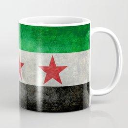 Syrian independence flag, vintage style Coffee Mug