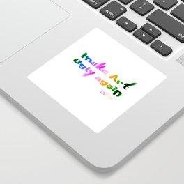 Make Art Ugly Again Sticker