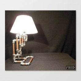 Articulated Desk Lamps - Copper and Chrome Collection - FredPereiraStudios_Page_08 Canvas Print