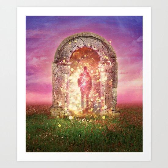 The Gateway Art Print