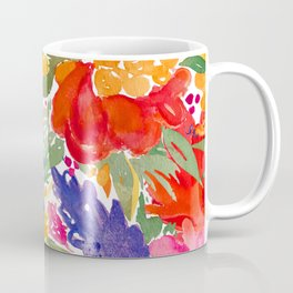 Summer Florals Coffee Mug