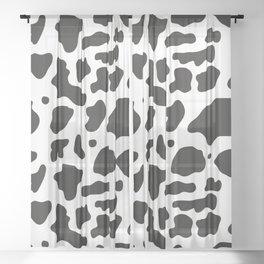 Cow Sheer Curtain