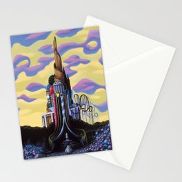 Our Monument To Each Pressing Memory Stationery Cards