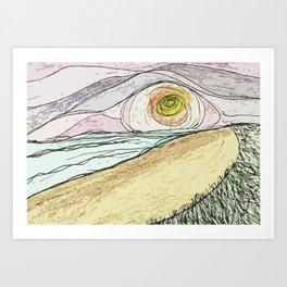 Gilgo w/Molly Art Print