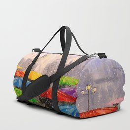 Toward the dream Duffle Bag