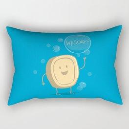 Wasoap? Rectangular Pillow