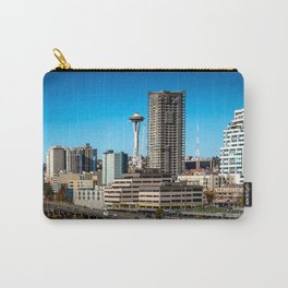 Seattle Space Needle and Aquarium Carry-All Pouch