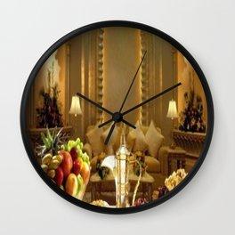 pharaoh's feast Wall Clock