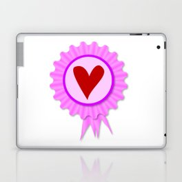 Love Heart Rosette Laptop & iPad Skin