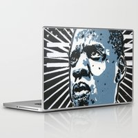 jay z Laptop & iPad Skins featuring Jay-Z by Hans Poppe