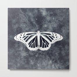 Ghost Butterfly Metal Print