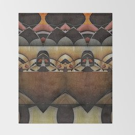 at the anatomical theatre Throw Blanket