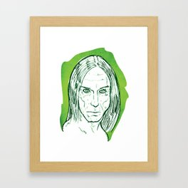 Iggy Pop! Framed Art Print
