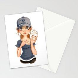 ny fan Stationery Cards