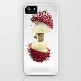 Flying Rambutan iPhone Case
