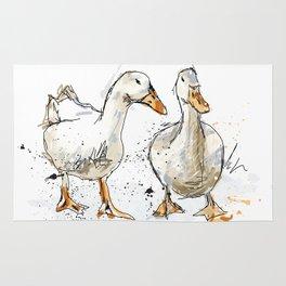 Gooses friends Rug