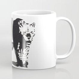 Banksy Animal Rights Artwork, Jaguar Tiger Barcode Prints, Posters, Bags, Tshirts, Men, Women, Youth Coffee Mug
