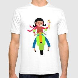 Italian girls love ice cream T-shirt