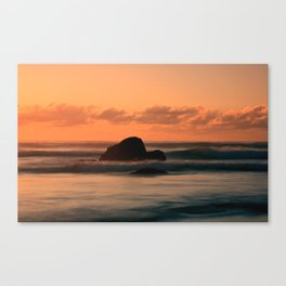 sunset at Sennen Cove Canvas Print