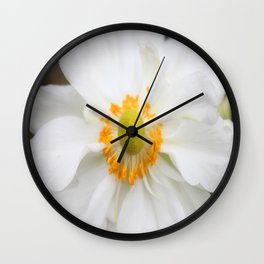 Pure White Wall Clock