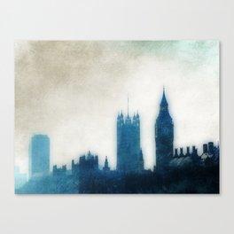 The Many Steepled London Sky Canvas Print