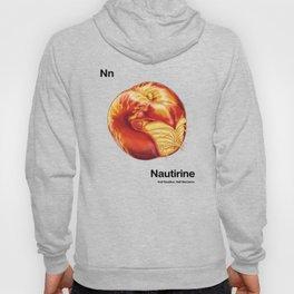 Nn - Nautirine // Half Nautilus, Half Nectarine Hoody