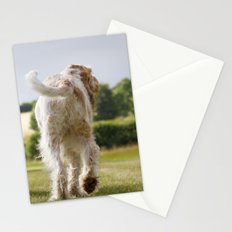 Italian Spinoni Dogs Woody & Ruben Stationery Cards