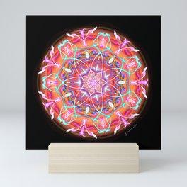 Lotus of Muladhara & Sahasrara Mini Art Print