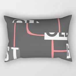 Urban Funk Art Rectangular Pillow