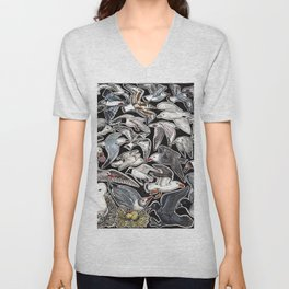 Sea gulls for bird lovers Unisex V-Neck