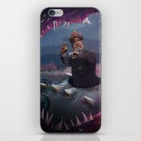nemo iPhone & iPod Skins featuring Captain Nemo by Josmen9016