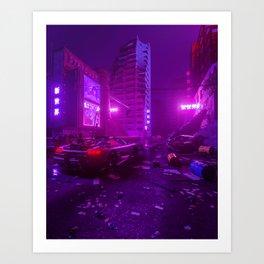 Neon Apocalypse Art Print