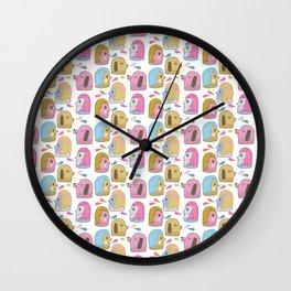 Pattern Project #35 / Let's Talk Wall Clock