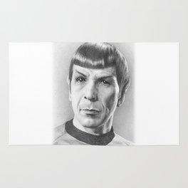 Spock - Fascinating (Star Trek TOS) Rug