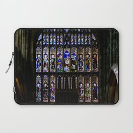 Stained Glass Window Shakespeare's Church Stratford upon Avon England Laptop Sleeve