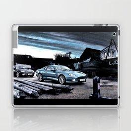 ASTON MARTIN AUTOMOBILE AT ENGLISH HARBOUR Laptop & iPad Skin